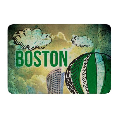 Boston by iRuz33 Bath Mat Size: 24 W x 36 L