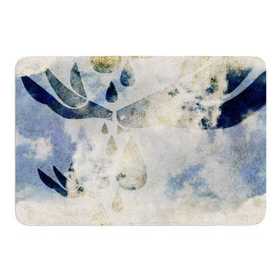 Doves Cry by iRuz33 Bath Mat Size: 17w x 24L