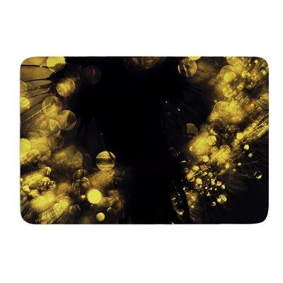 Moonlight Dandelion by Ingrid Beddoes Bath Mat Size: 24 W x 36 L