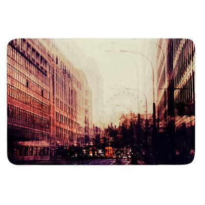 London by Ingrid Beddoes Bath Mat Size: 24 W x 36 L