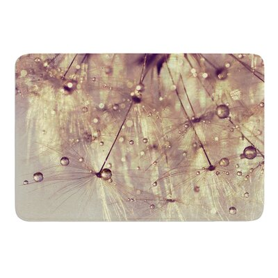 Sparkles of Gold by Ingrid Beddoes Bath Mat Size: 17w x 24L