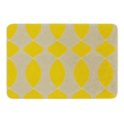 Geometries by Julia Grifol Bath Mat Size: 17 W x 24 L