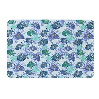 My Colorful Fishes by Julia Grifol Bath Mat Size: 24 W x 36 L