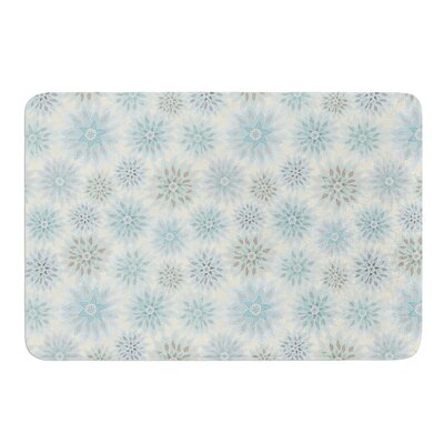 My Delicate Flowers by Julia Grifol Bath Mat Size: 24 W x 36 L