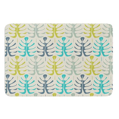My Leaves by Julia Grifol Bath Mat Size: 17 W x 24 L