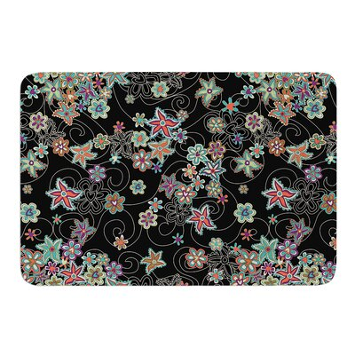 My Small Flowers by Julia Grifol Bath Mat Size: 24 W x 36 L
