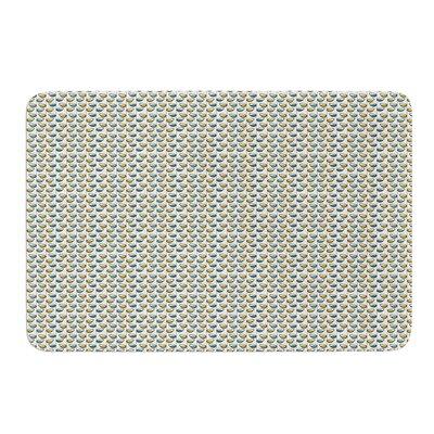 Spring Stem by Julie Hamilton Bath Mat Size: 24 W x 36 L