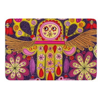 Indian Jewelry by Jane Smith Bath Mat Size: 17