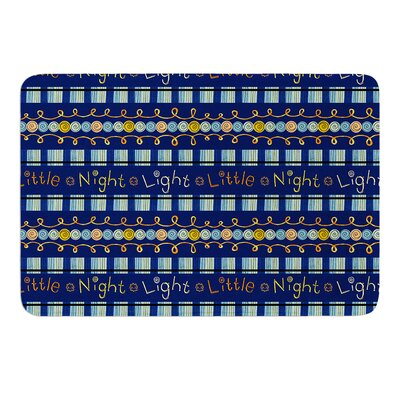 Little Night Light by Jane Smith Bath Mat Size: 24 W x 36 L