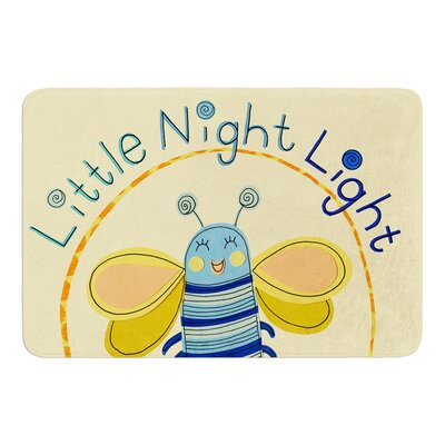 Little Night Bug by Jane Smith Bath Mat Size: 24