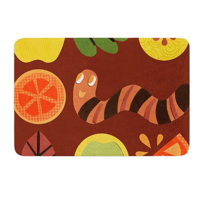 Autumn Repeat by Jane Smith Bath Mat Size: 17 W x 24 L