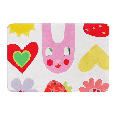 Summer Repeat by Jane Smith Bath Mat Size: 24 W x 36 L