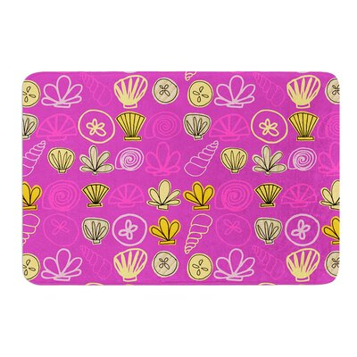 Under the Sea Mermaid by Jane Smith Bath Mat Size: 24 W x 36 L