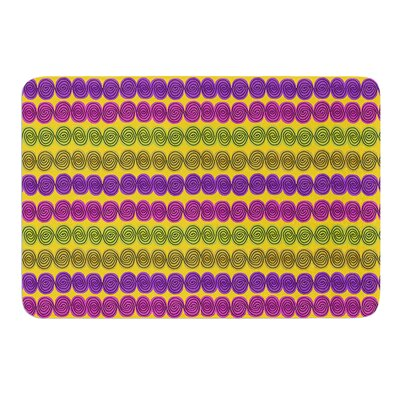 Under the Sea Shells by Jane Smith Bath Mat Size: 17