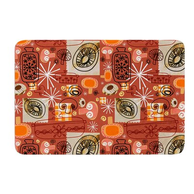 Vintage Kitchen by Jane Smith Bath Mat Size: 17 W x 24 L