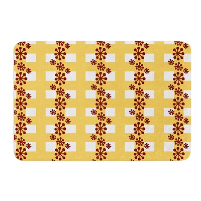 Mushroom Repeat by Jane Smith Bath Mat Size: 24 W x 36 L
