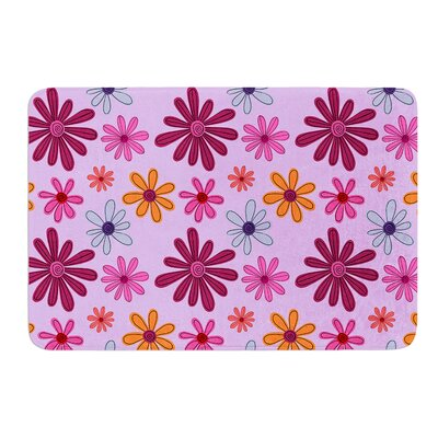 Woodland Floral by Jane Smith Bath Mat Size: 24 W x 36 L