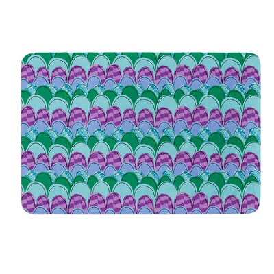 Woodland Waves by Jane Smith Bath Mat Size: 17 W x 24 L