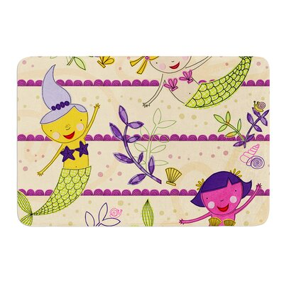 Under the Sea by Jane Smith Bath Mat Size: 17 W x 24 L