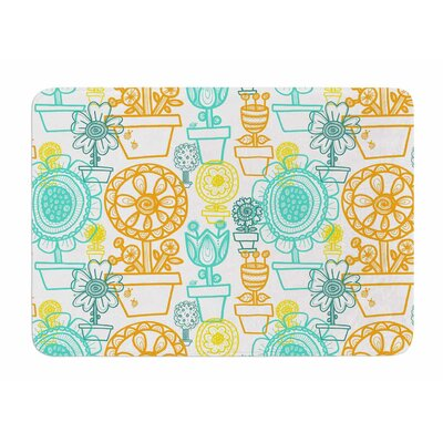 Potted Florals by Jane Smith Bath Mat