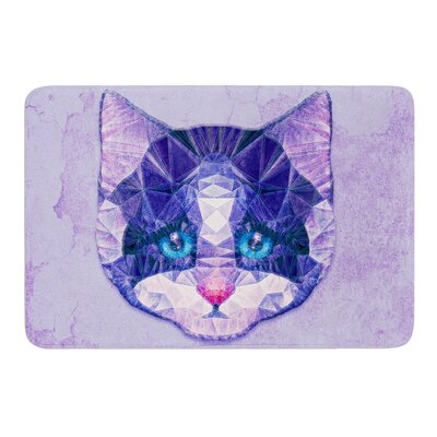 Cute Kitten by Ancello Bath Mat Size: 17 W x 24 L