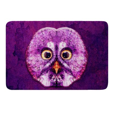 Hoot by Ancello Bath Mat Size: 17W x 24L