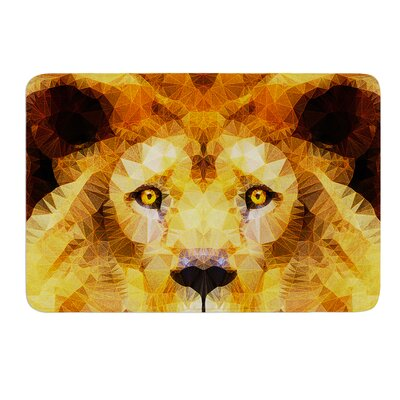 Lion King by Ancello Bath Mat Size: 17W x 24L