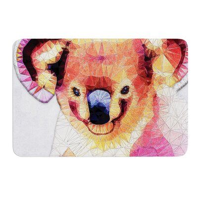 Cute Koala by Ancello Bath Mat Size: 17W x 24L