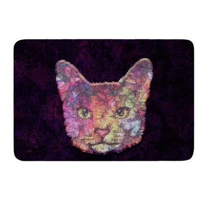 Rainbow Cat by Ancello Bath Mat