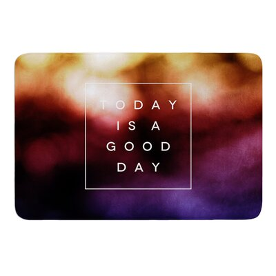 Good Day by Galaxy Eyes Bath Mat Size: 17 W x 24 L