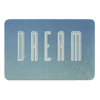 Dream Print by Galaxy Eyes Bath Mat Size: 17W x 24L