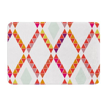 Aztec Diamonds by Pellerina Design Bath Mat Size: 17W x 24L