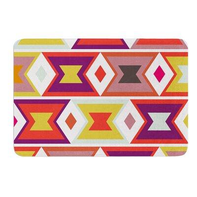 Aztec Weave by Pellerina Design Bath Mat Size: 17W x 24L