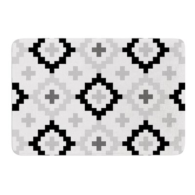 Moroccan by Pellerina Design Bath Mat Size: 17W x 24L