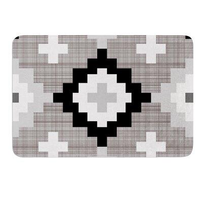 Linen Moroccan by Pellerina Design Bath Mat Size: 17W x 24L