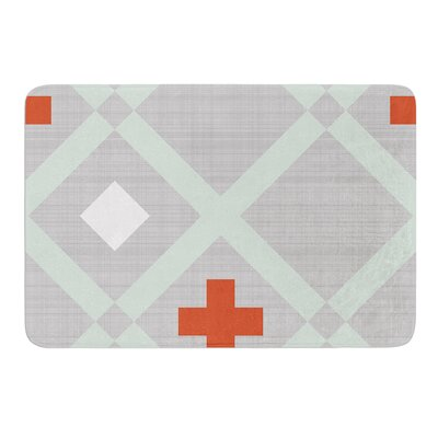 Lattice Weave by Pellerina Design Bath Mat Size: 17W x 24L