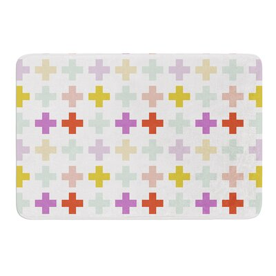 Orchid Plus by Pellerina Design Bath Mat Size: 17W x 24L