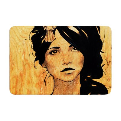 Blue Bra by Brittany Guarino Bath Mat Size: 24 W x 36 L