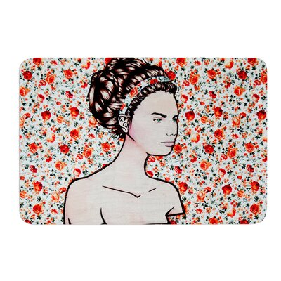 Spring Fashion by Brittany Guarino Bath Mat Size: 17W x 24L