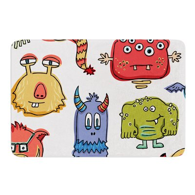 Little Monsters by Brienne Jepkema Bath Mat Size: 17W x 24L