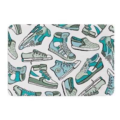 Sneaker Lover III by Brienne Jepkema Bath Mat Size: 24 W x 36 L