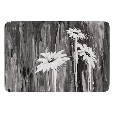 Daises by Brienne Jepkema Bath Mat Size: 24 W x 36 L