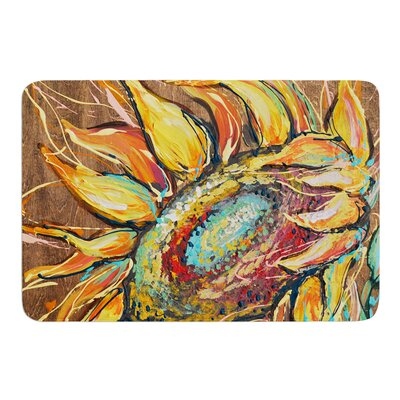 Sunflower by Brienne Jepkema Bath Mat Size: 17W x 24L
