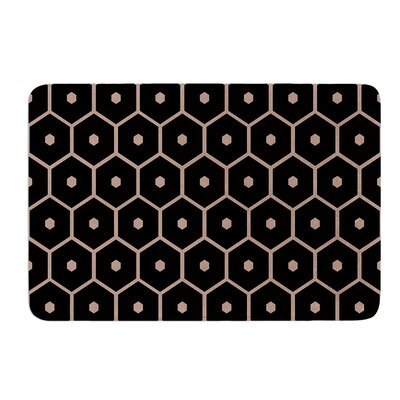 Tiled Mono by Budi Kwan Bath Mat Size: 17W x 24L