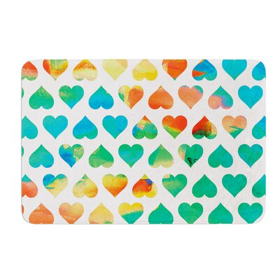 Be Mine by Budi Kwan Bath Mat Size: 17W x 24L