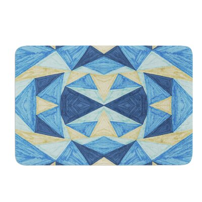 The Blues by Empire Ruhl Bath Mat Size: 24 W x 36 L