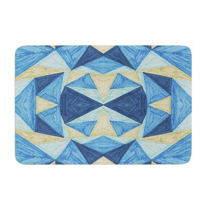 The Blues by Empire Ruhl Bath Mat Size: 17W x 24 L