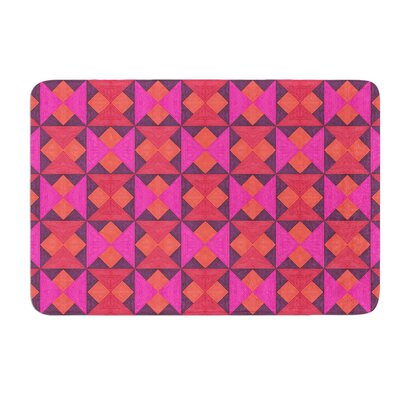 A Quilt Pattern by Empire Ruhl Bath Mat Size: 24 W x 36 L