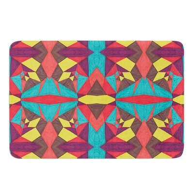 Abstract Insects by Empire Ruhl Bath Mat Size: 24 W x 36 L