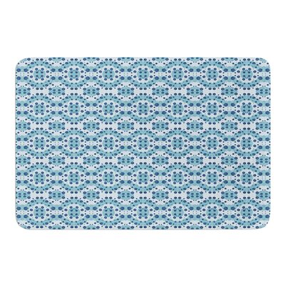 Circle Abstract by Empire Ruhl Bath Mat Size: 24 W x 36 L